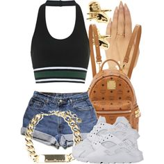 7|19|15 by miizz-starburst on Polyvore featuring Topshop, MCM, Wet Seal, Melody Ehsani, Han Cholo and NIKE