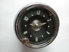 1954 Chevrolet Car or 1954-1955 Chevy and GMC Truck Clock - Serviced and Working with a 60 Day Guarantee + FREE Shipping!!! - $79.88 #Chevrolet #ChevyTruck #Clock #GMCTruck #WindUp