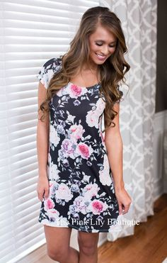 Gets Me Every Time Floral Dress
