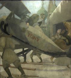 "Tony Jannus in Russia ""Tony Jannus in Russia"", a painting showing the early aviator training Russians to fly during the First World War. Lake Erie, First World, World War, Aviation, Russia, Training, Illustration, Pictures, Art"