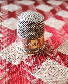 10 Carat Gold Vintage Thimble by CaringHandsGlassArt on Etsy, $110.00