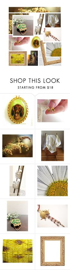 """Goldenrod"" by jarmgirl ❤ liked on Polyvore featuring As Is and vintage"