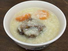 Oxtail porridge