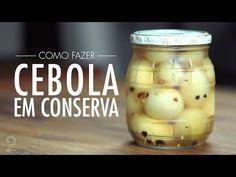 Como fazer CEBOLA EM CONSERVA - Receita de Picles Perfeita e PRÁTICA | Gourmet a dois - YouTube