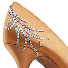 BeSparkle Crystallized Design PT515 | Dancesport Fashion @ DanceShopper.com
