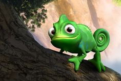 Pascal, the chameleon, from the movie Tangled
