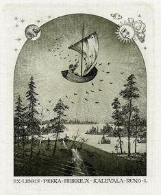 Ex libris by K. Kalinovich