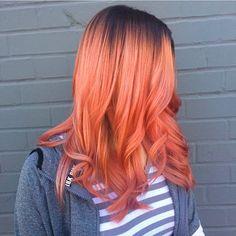 Size de bu güzel saç renginin keyfini sürmek kalacaktır! ❤️