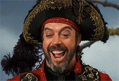 tim curry gif - Long John Silver - Muppet Treasure Island