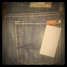 I just added this to my closet on Poshmark: 7 for all mankind Jeans Jimmie Kim NWT 32!. Price: $79 Size: 32