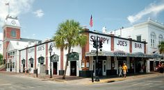 If you visit Key West, you must go to Sloppy Joe's Bar! It was the bar where Hemingway frequented. Inside the bar is a large, framed photo of him standing next to his giant Marlin which inspired the story Old Man and the Sea!