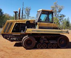CATERPILLAR. CH-65, Tractor. Caterpillar Equipment, Heavy Equipment, Military Vehicles, Tractors, Big, Army Vehicles
