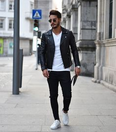 """486 Likes, 13 Comments - Bruno Martins (@brunomartins71) on Instagram: """"Real leather it's always better than fake leather Jacket by @jeansda_jeans , go check out their…"""""""