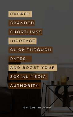 Showcase your brand and shorten the links you share on social media by using your own domain. Track clicks on your shared links and add retargeting pixels. Twitter T, Get Likes, Fancy Schmancy, Confidence Boost, Copywriter, The Day Will Come, Brand You, Really Cool Stuff, Followers