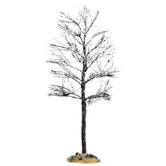 This item features a bare tree with fine branches and a light dusting of snow. This will be a great addition to your miniature scene. 2016 Poly-resin items Approx: H x W x D Lemax Christmas Village, Snow Queen, Holiday Traditions, New Age, Old World