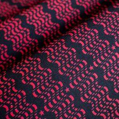 モダンデザインのインテリアファブリック/Sniff Out/SP FABRIC × RECORDS Friendship Bracelets, Fabric, Tejido, Tela, Cloths, Fabrics, Tejidos, Friend Bracelets