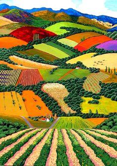 Existen seres cuya capacidad de mirar y trasmitir lo observado, pasa por una paleta de colores que transforma y magnifica la realidad, alej...