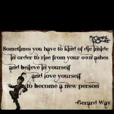 Gerard Way of My Chemical Romance quote