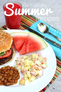 Kid Friendly Summer Recipes from The Educators' Spin On It