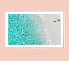 Hyams Beach Jervis Bay Bondi Beach Ariel Print Aj Photography, Print Place, Bondi Beach, Beach Print, Large Prints, Display, Fine Art, Color, Image