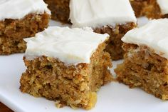 This low calorie carrot cake even has a low calorie cream cheese frosting.