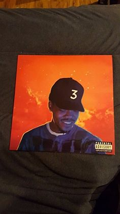 Chance the rapper Coloring book Clear vinyl 2LP Very rare