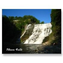 Ithaca Falls Post Cards by aimeedars
