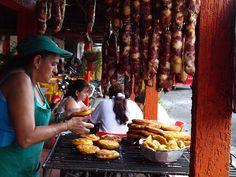 Fritanga en el Quindio Colombia street food