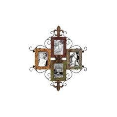 Woodland Imports Metal Picture Frame Wall Decor