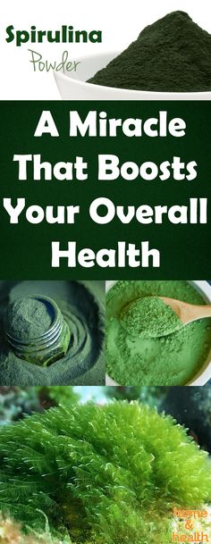 Spirulina powder is full of potent enzymes, antioxidants, minerals, and vitamins. It contains more nutrients than 5 servings of fresh vegetables and fruits.