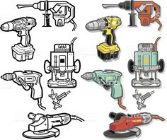 Image result for power tool icons