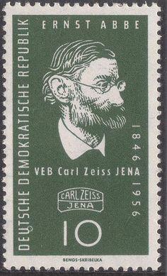 Briefmarke: 110 J. of Carl Zeiss Jena