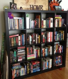 bookshelf ( I believe this one is from Ikea)