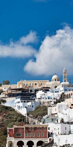 Fira the capital, Santorini Greece