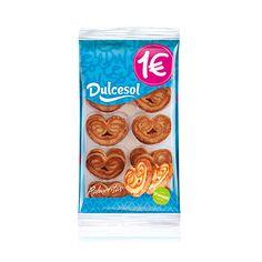 Palmeritas Dulcesol (Eroski) - 1 unidad 1,5 puntos