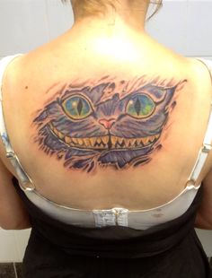 My spin on the Cheshire Cat from alice in wonderland