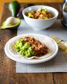 Spring Eats - Mexican bean and chicken recipe via Pinch of Yum