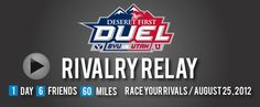 Rivalry Relay -  August 25, 2012!