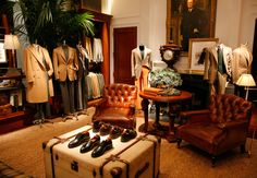 Ralph Lauren menswear mansion on Madison Avenue, NYC