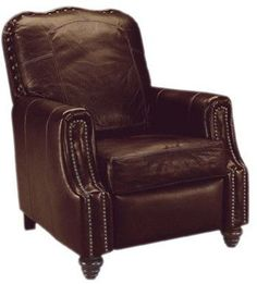 Klaussner Furniture Hanson Leather Recliner  sc 1 st  Pinterest : scs chairs recliner chairs - islam-shia.org
