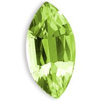 Shop online for high quality Peridot Marquise shape gemstone in 8X4mm up for sale at the wholesale prices.