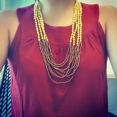 Having a #happyday in the #happynight necklace by @31bits #ootd #originsmatter #giveback #fairtrade #fashionforgood #handmade #setandstyle #sisters #selfie