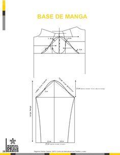 Manual de patronaje CMT - SENA Pattern Making Books, Pattern Books, Dress Sewing Patterns, Clothing Patterns, Pattern Drafting Tutorials, Modelista, Jacket Pattern, Cut Shirts, Learn To Sew