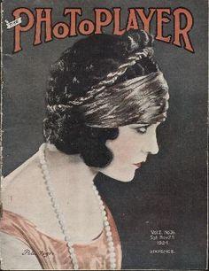 "Pola Negri on the cover of ""The Photoplayer"" magazine, Australia, November 1921."