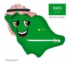 New Saudi Arabia Plushky Design #kids #toys #culture #global #multicultural #globalkids #SaudiArabia