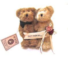 Boyd's Bears Mr & Mrs Truelove Just Married Bears by ADOPTIONSLtd
