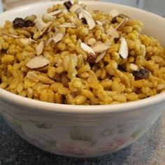 Indian Curried Barley Pilaf Recipe on Yummly Side Dishes For Fish, Fish Dishes, Main Dishes, Indian Food Recipes, Vegetarian Recipes, Cooking Recipes, Ethnic Recipes, Healthy Recipes, Cooking Stuff