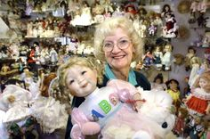 As a dying wish, Wilma Schubert wants you to buy her dolls — all 7,000 of them.