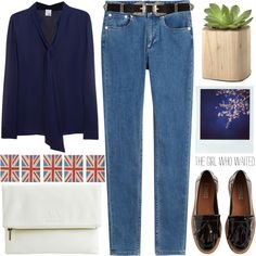 Untitled #931 by chantellehofland on Polyvore featuring Iris & Ink, A.P.C…
