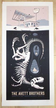 Music Serigraph Print Gotye Limited Edition Silkscreen Concert Poster